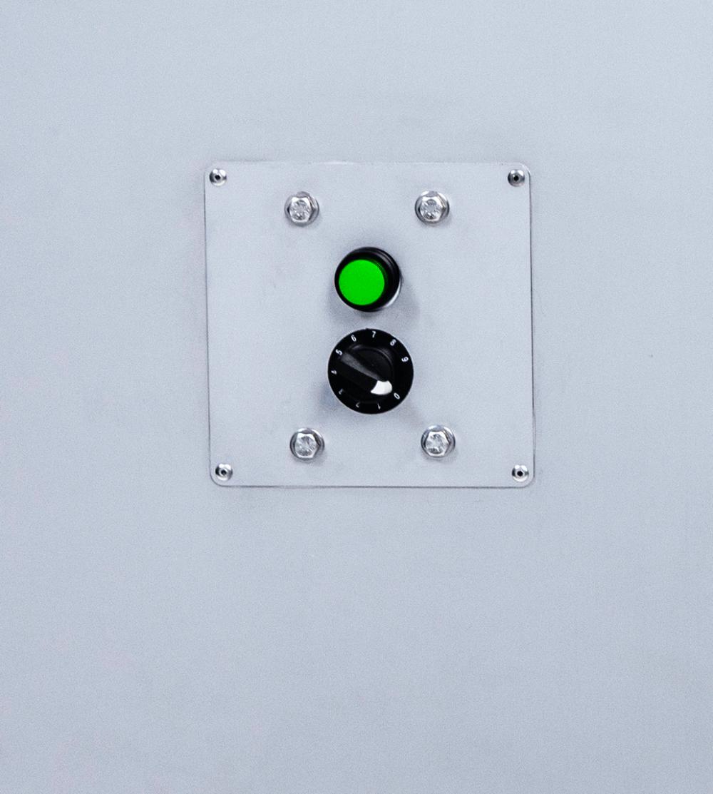 Mounted E1 Air Filtration Unit CFM dial