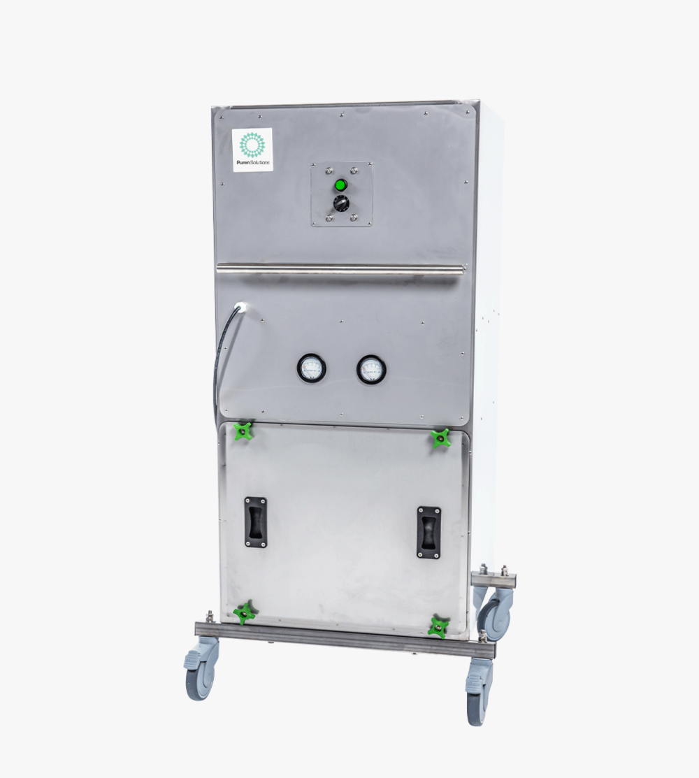 E3 Air Filtration Unit for powdery mildew and other contaminants